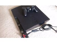 PS3 Slim 500GB with Controller and Power cable