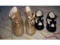 Baby Girl shoes and boots size 3