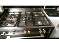 Baumatic 5 burner range cooker