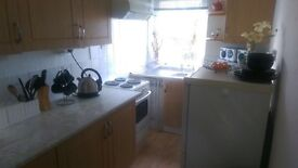 *1 bedroom fully furnished flat to rent walk in condition *