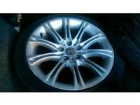 """M sport 18"""" alloys and tyres (vw t5)"""