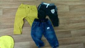 Boys trousers 12-18m