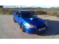 2004 Subaru Impreza WRX STi with Prodrive performance pack