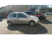 Fiat punto three door silver,,, reliable, MOT June, cd player fitted. Non smoker, good rin around ,,