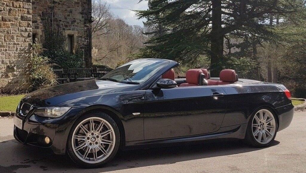 BMW 335i M Sport Convertible M PERFORMANCE EXHAUST RED LEATHERS FBMWSH Twin  Turbo M3 335D 330i S | in Ecclesfield, South Yorkshire | Gumtree