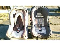 Infant car seats - see description for more details