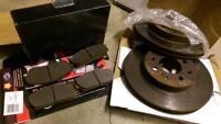Honda/Acura brake pads and rotors