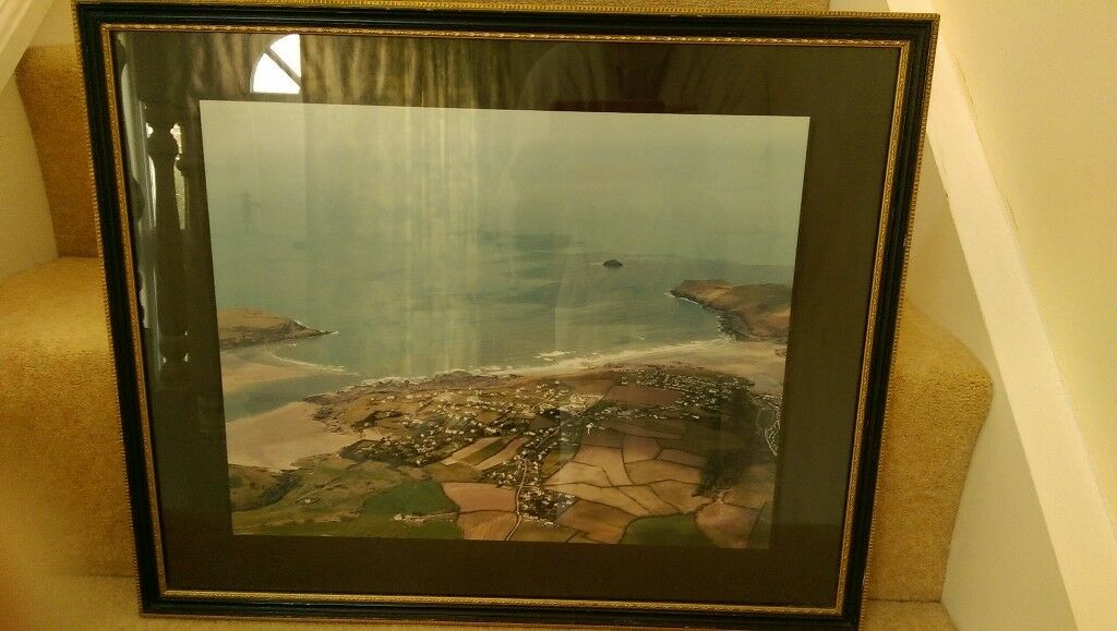 DAYMER BAY and POLZEATH -photo in frame