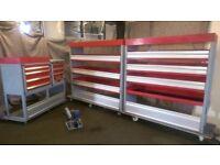 Bott Van racking, Van shelving, Van Drawers, worktop, vice, Service case B129