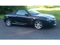 2005 black mg tf 1.8litre 135 bhp immaculate under 37000 mls