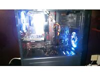 Gaming PC Intel i5-8500 3GHz 6 Core 6 Thread, 16 gig Corsair DDR4RAM, 4 gig Graphics card Windows 10