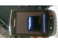 blackberry torch 9800 unlocked works fine good condition