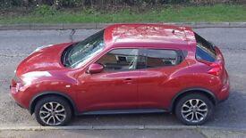 Nissan Juke Tekna 1.5 Dci 63 reg, Force Red