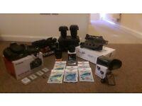 Canon 600d DSLR filmmaking Kit & various Lens'