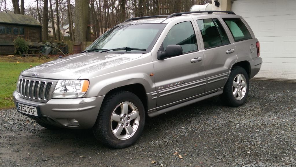 jeep grand cherokee wj 2002 4 7 v8 ho overland for sale 72k miles 1250 ono in peebles. Black Bedroom Furniture Sets. Home Design Ideas