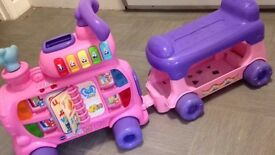 Vtech sit n stand train (pink)
