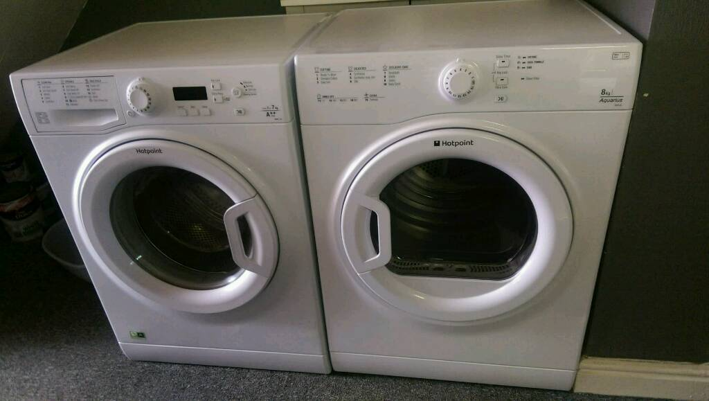 Matching washing machine and dryerin Leeds, West Yorkshire - Both in excellent clean condition fully working. No offers. Can see separate