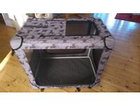 Fabric Portable Dog Crate/Carrier