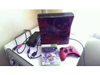 Ltd edition gears of war Xbox 360 320gb & Ltd edition resident evil controller & Destiny