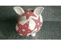 Large ceramic piggy bank