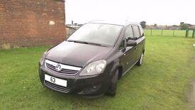 63 reg Vauxhall Zafira 1.6 Design Sat Nav, 7 seater, FSH, full MOT, heated seats, bluetooth