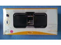 iLive - Speaker System with Dock for iPod - Stereo Speakers - Remote Control - Used - Good Condition
