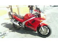 honda vfr750 vfr 750 - taxed , mot and ready to go