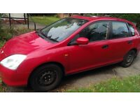 Honda Civic 1,6 v tec service book and all history, motor good condition, inside clean
