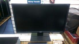 ACER V246HL 24INCH WIDESCREEN MONITOR FOR CCTV/PC VGA/DVI