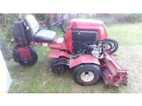 PROFESSIONAL DIESEL TORO RIDE-ON LAWNMOWER