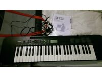 Casio CTK-240 49 Note Full Size Keyboard with power adapter ,manual & Keyboard Bag