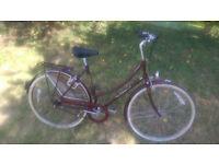 VINTAGE LADIES RALEIGH CAMEO DUTCH STYLE BICYCLE, 3 SPEED