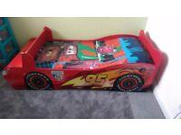 Lightning McQueen Disney Cars Toddler Bed