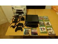 Xbox one with Kinect, 2 controllers, 7 Games all very good condition like new!!!