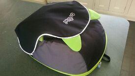 Trunki Boostapak Booster car seat travel backpack