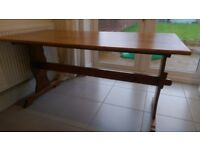 Farm house style solid dining table