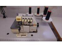 YAMATA FY747A Super High Speed 3/4 thread industrial overlocker sewing machine
