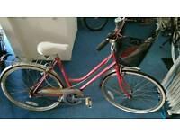 Ladies Town bike SMALL