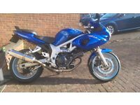 Suzuki SV650 S - great condition, many extras