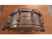 Yamaha Recording Custom Steel Parallel Action Snare Drum Vintage 70s 80s 9000 000 Super Sensitive