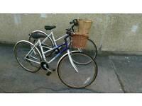 Hybrid Ladies Town Bikes ( Raleigh Pioneer's) choice of 5