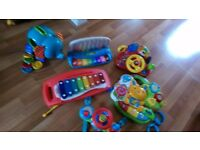 Baby musical / activity / pram / pushchair / cot mobile toys / some Vtech