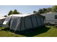 AWNING FOR TOURING CARAVAN