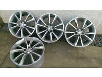 """Vauxhall VXR style 18"""" alloy wheels"""