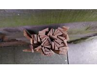 Approx 50no. Timber Floorboard Joint/Crack/Gap Pine Filler strips