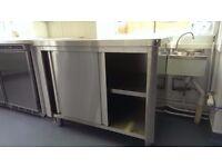 Inomak Stainless Steel Base Cupboard EG710 - 1100mm - brand new but unpackaged