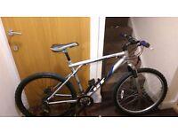 GT mountain bike with 26 wheel size