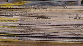 Various classical albums big selection job lot house clearance