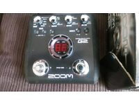 ZOOM G2 MULTI EFFECTS PEDAL