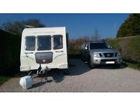 2010 Bailey Olympus 534 4 berth Caravan and Awning